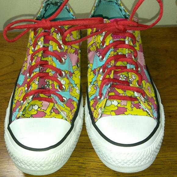 929935a3d487 Converse Shoes - Converse The Simpsons Shoes Size Mens 5 Women 7